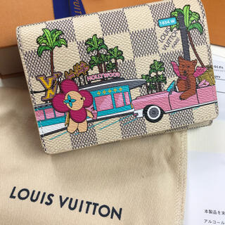 LOUIS VUITTON - 新品未使用ダミエ・アズール キャンバス ポルトフォイユ・ヴィクトリーヌ