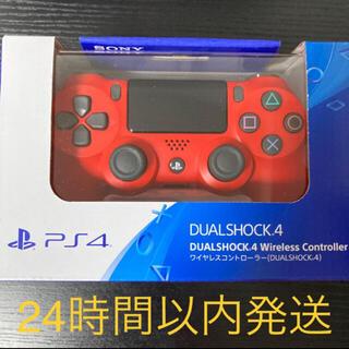 PlayStation4 - PS4 プレステ4 ワイヤレスコントローラー デュアルショック 赤
