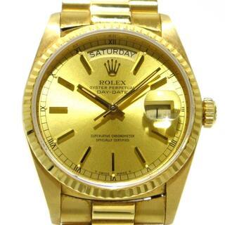 ROLEX - ロレックス 腕時計 18038 メンズ ゴールド