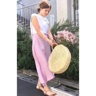 マディソンブルー(MADISONBLUE)のMADISONBLUE/リネンアシメトリースカート (ロングスカート)