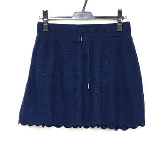 ロンハーマン(Ron Herman)のロンハーマン ミニスカート サイズS -(ミニスカート)