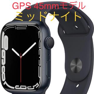 Apple Watch - Apple Watch season7 GPS 45mm ミッドナイト!