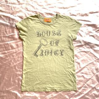 ジューシークチュール(Juicy Couture)の■ジューシークチュール Tシャツused■Sサイズ■送料込■(Tシャツ(半袖/袖なし))