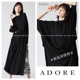 ADORE - ⭐️本日限定‼︎⭐️新品ADOREモノトーンジオメトリックプリントワンピース💫