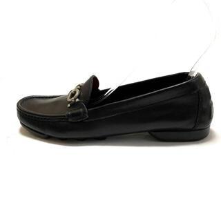 サルヴァトーレフェラガモ(Salvatore Ferragamo)のサルバトーレフェラガモ ローファー 7 D -(ローファー/革靴)
