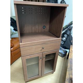 ニトリ(ニトリ)のニトリ レンジ台 食器棚(キッチン収納)