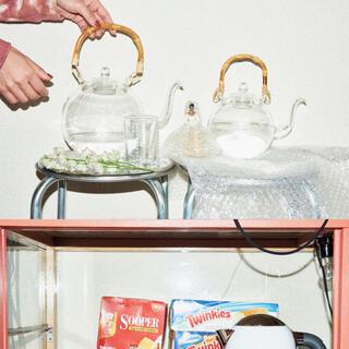 ヤエカ(YAECA)の新品 日ノ出化学製作所 ガラスポット L 竹の取手(食器)