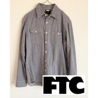 エフティーシー(FTC)のFTC エフティーシーヒッコリーシャツ ストライプシャツ(シャツ)