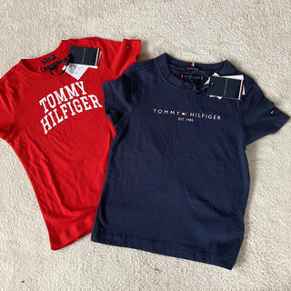 トミーヒルフィガー(TOMMY HILFIGER)のトミーフィルフィガー男子供Tシャツ100センチ2枚セット(Tシャツ/カットソー)