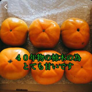 次郎柿 6個