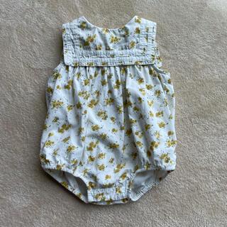 キャラメルベビー&チャイルド(Caramel baby&child )のlittle cotton closet 2020ロンパース(ロンパース)