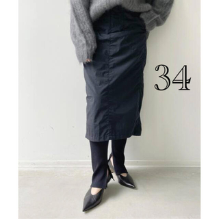 L'Appartement DEUXIEME CLASSE - 【Americana/アメリカーナ】Nylon Tight Skirt ブラック
