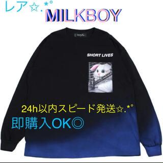ミルクボーイ(MILKBOY)のMILKBOY BUNNY L.S. Tシャツ ロンT スウェット トレーナー(トレーナー/スウェット)