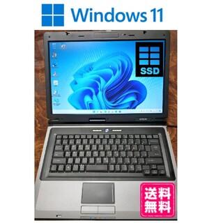 EPSON - windows11をクリーンインストールしたノートパソコン!SSD搭載!