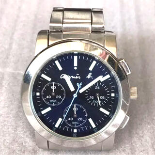 agnes b. - アニエスベー クロノグラフ 腕時計
