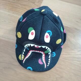 アベイシングエイプ(A BATHING APE)のAPE子供用キャップ シャーク(帽子)