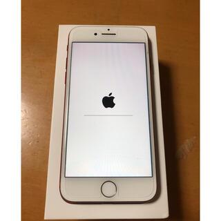 Apple - iPhone7  Red 128gb  SIMフリー 100%バッテリー