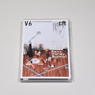 ブイシックス(V6)の美品◆V6◆live tour 2011 Sexy.Honey.Bunny!(ミュージック)