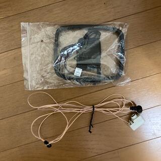 デノン/マランツ製AMループアンテナ+F付FM簡易型アンテナ(映像用ケーブル)