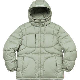 Supreme - 【Mサイズ】Warp Hooded Puffy Jacket