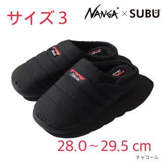 NANGA - NANGA×SUBU タキビ ウィンターサンダル サイズ3