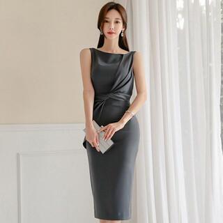 【本日限定セール】ZARAジャンル❤️韓国ファッション フォーマルきれいめドレス
