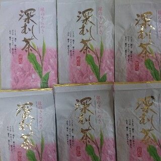 静岡県産 深むし茶100g6袋 静岡茶 深蒸し茶だんらん(茶)
