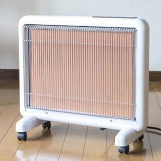 サンルミエ 未使用 ホワイト 電気ヒーター