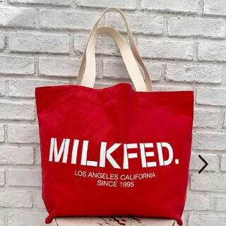 ミルクフェド(MILKFED.)のMILK FED.*ロゴ ベーシック ビッグ トートバッグ(トートバッグ)