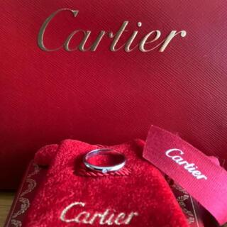 Cartier - 美品 カルティエ プラチナ ダイヤモンドリング