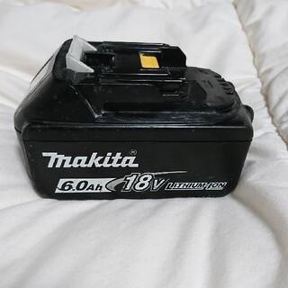 マキタ(Makita)のMakita 18V 6.0Ah バッテリー(工具/メンテナンス)