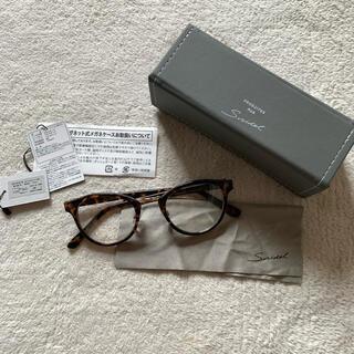 snidel - スナイデル 伊達メガネ べっこう メガネケース メガネ拭き