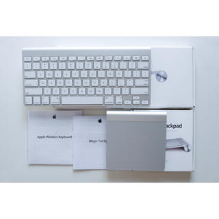 Apple - 【US配列】Wireless Keyboard & Magic Trackpad