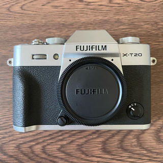 富士フイルム - FUJIFILM X-T20 SILVER 美品 ミラーレス 一眼