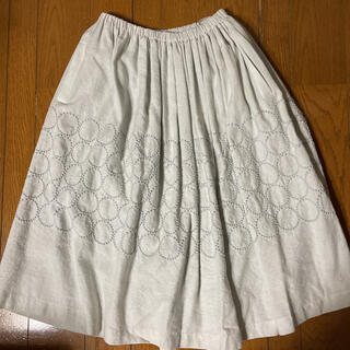 ミナペルホネン(mina perhonen)のミナペルホネン tambourine スカート (ロングスカート)