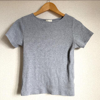 earth music & ecology - リブ Tシャツ カットソー トップス