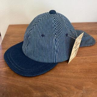 ムジルシリョウヒン(MUJI (無印良品))の新品未使用【無印良品】日除けフラップ付き キャップ 帽子 52cm(帽子)