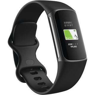 【新品】Fitbit Charge5 ブラック L/Sサイズ [日本正規品]