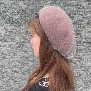 エイミーイストワール(eimy istoire)のエイミーイストワール チュールベレー(ハンチング/ベレー帽)