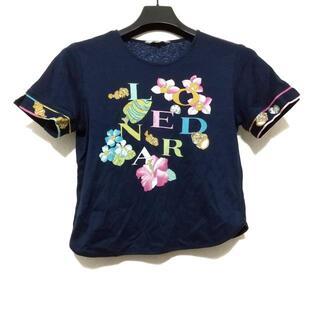 レオナール(LEONARD)のレオナール 半袖カットソー サイズM美品  -(カットソー(半袖/袖なし))