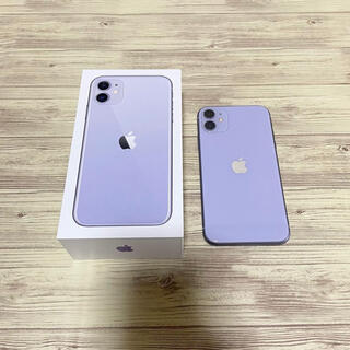 Apple - iPhone 11 128GB パープル SIMフリー
