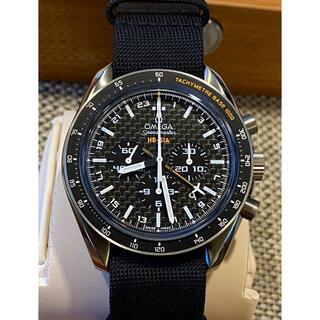 OMEGA - スピードマスター   GMT コーアクシャル チタン極美品