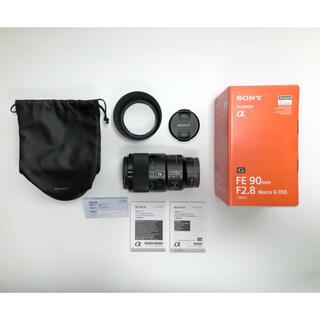SONY - SONY SEL90M28G FE 90mm F2.8 Macro G OSS