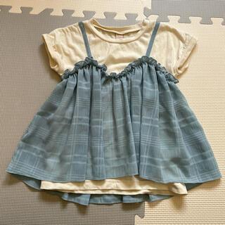 プティマイン(petit main)のプティマイン 110 トップス 女の子(Tシャツ/カットソー)