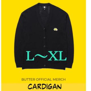 ボウダンショウネンダン(防弾少年団(BTS))のBTS  Butter  カーディガン L〜XL   公式(K-POP/アジア)