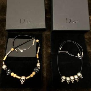 DIOR HOMME - Dior homme 18ss スカルネックレス ディオールオム ヴァニタス
