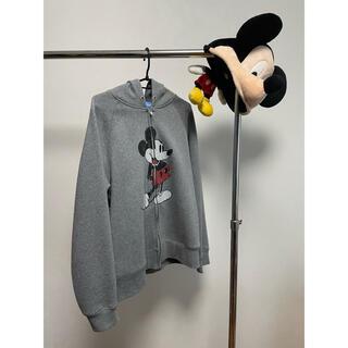 Disney - ミッキーマウスパーカー ミッキーマウス帽子 セット
