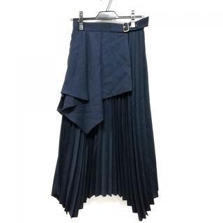 GRACE CONTINENTAL - ダイアグラム ロングスカート サイズ38 M -
