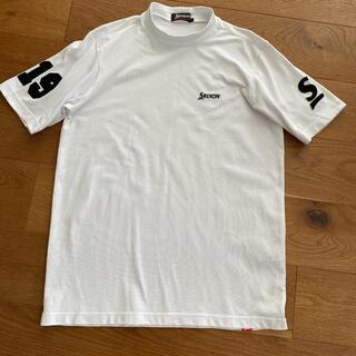 スリクソン(Srixon)のスリクソン No.19 Tシャツ ハイネック 白 サイズL(ウエア)