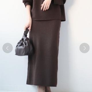プラージュ(Plage)のplage 2020 ♡boucle ニュアンスニットスカート♡(ロングスカート)